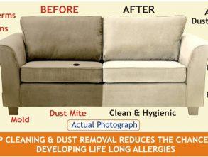 Cara Membersihkan Sofa dan Kursi