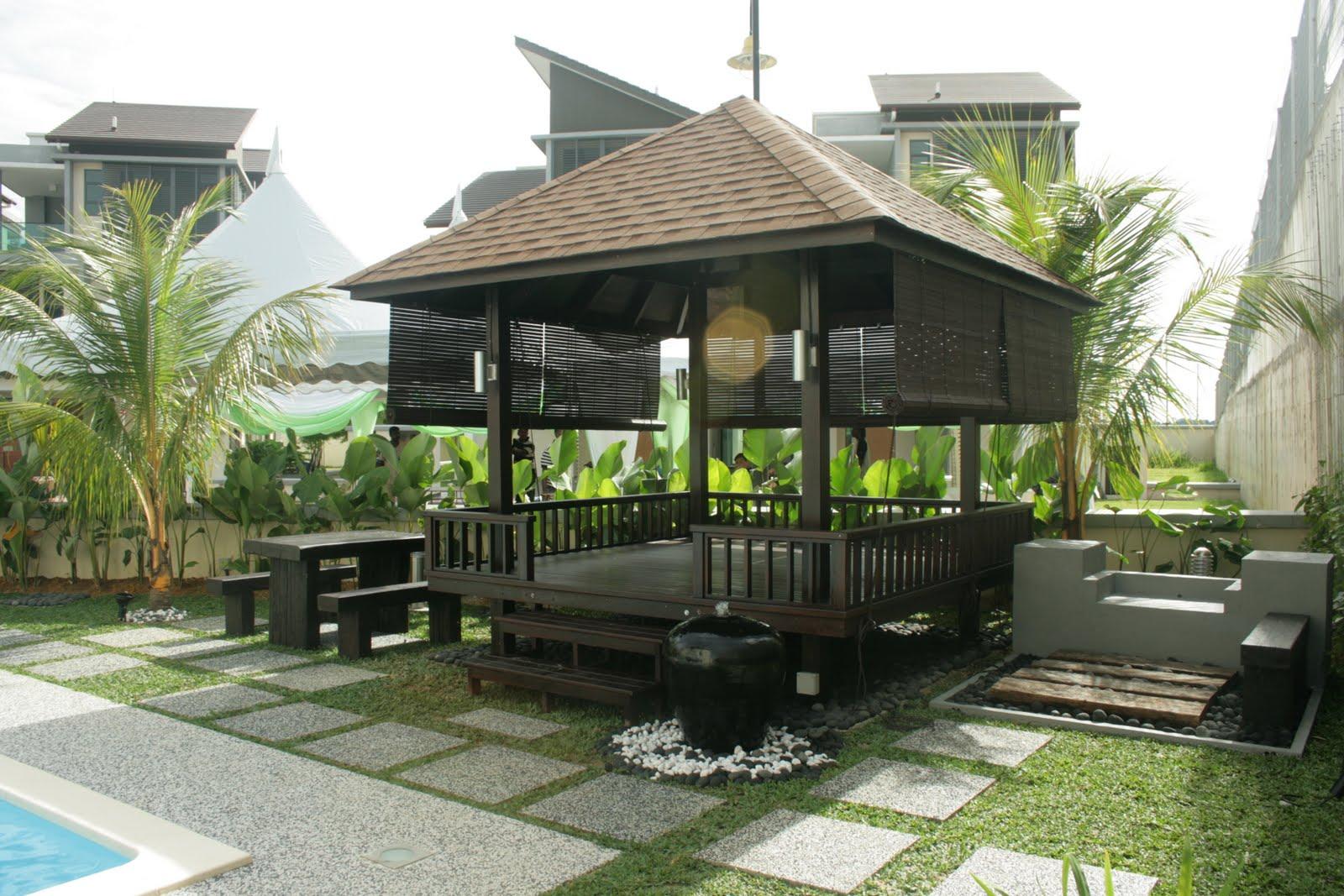Tempat Jual Dan Jasa Pembuatan Gazebo Bambu Murah Di