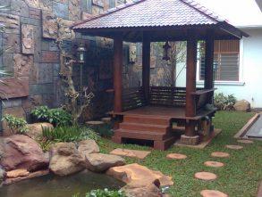 Tempat Jual dan Jasa Pembuatan Gazebo Bambu Murah di Bandung