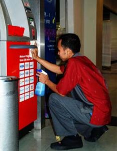 cleaning service atm