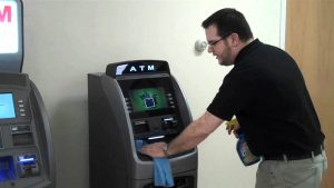 cleaning service mesin atm bandung