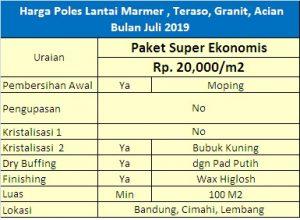poles lantai bandung paket super ekonomis